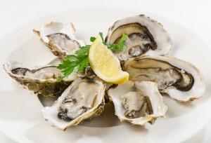 Auster und andere Meeresfrüchte sind besonders reich an Zink und helfen so Dehnungsstreifen zu verhindern.