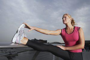 Sport hilft gegen Dehnungsstreifen - auch an den Beinen.